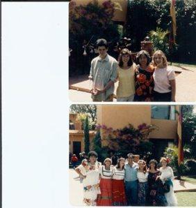 photos with teachers at Centro Bilingue