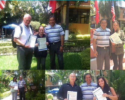 Estudiantes Graduados de Spanish School Uninter