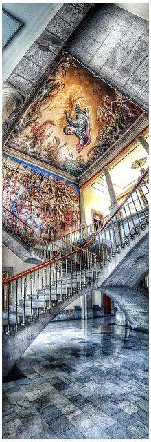 Interior del Castillo de Chapultepec