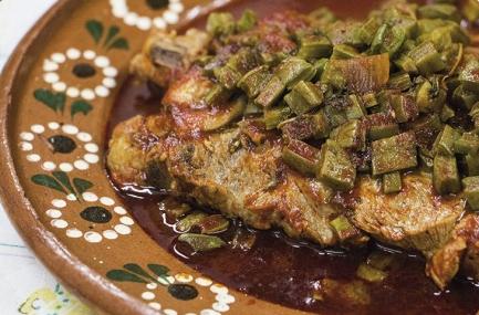 Espinazo de Cerdo en Salsa Amartajada