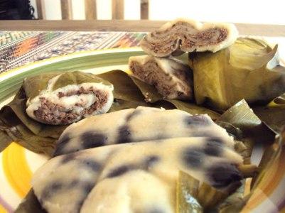 Tamales de Frijol Quebrado