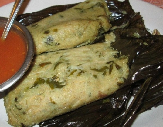 Tamales de Iguana