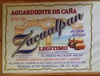 Aguardiente de Zacualpan