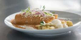 Enchiladas de Cacahuate