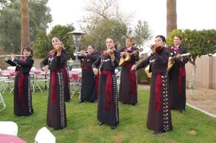 Mujeres mariachi