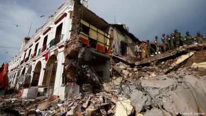 Earthquake Mexico 2017