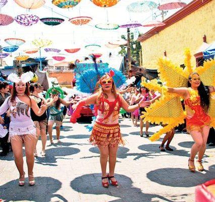 Desfile de viudas Yautepec